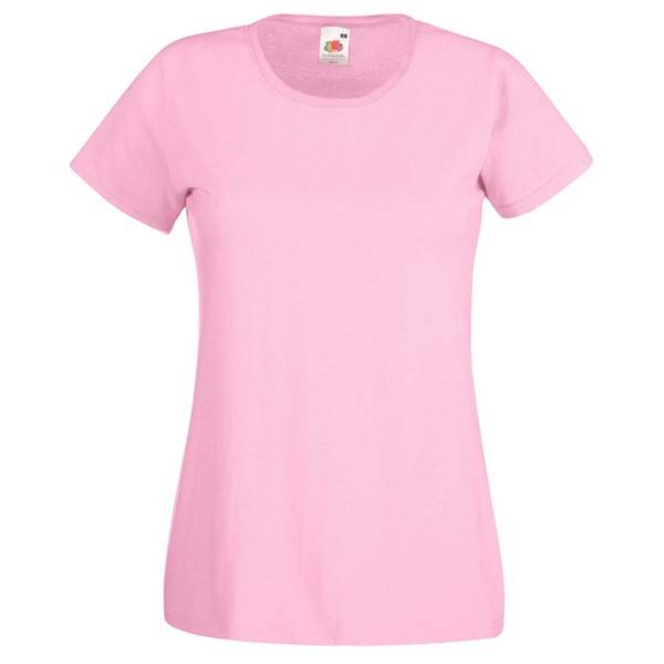 Fruit of the Loom Lady-Fit Valueweight T - Lightpink