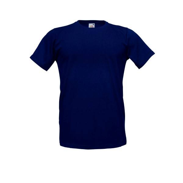 Fruit of the Loom Fitted Valueweight T - Darkblue - Large