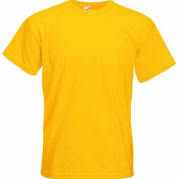 Fruit of the Loom Super Premium T - Mustard - XX-Large
