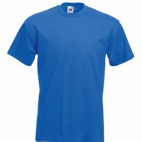 Fruit of the Loom Super Premium T - Royalblue - XX-Large