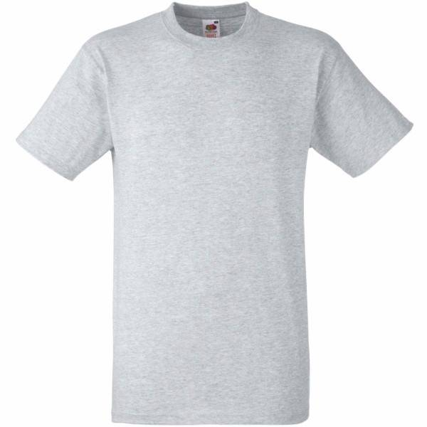 Fruit of the Loom Heavy Cotton T - Greymarl - Large