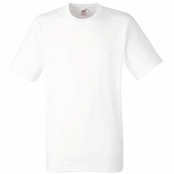 Fruit of the Loom Heavy Cotton T - White