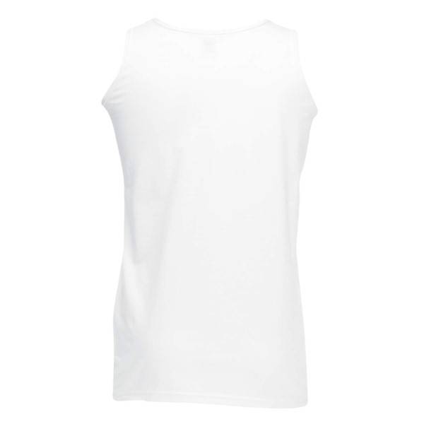 Fruit of the Loom Athletic Vest - White