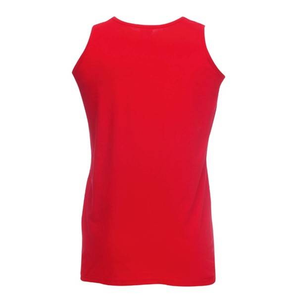 Fruit of the Loom Athletic Vest - Red
