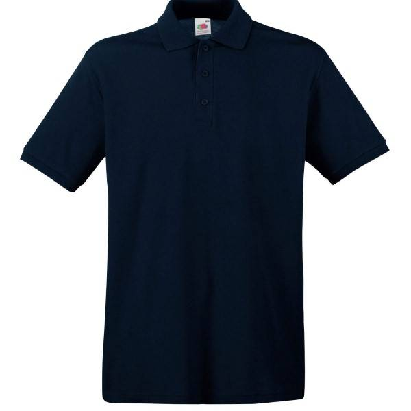 Fruit of the Loom Premium Polo - Darkblue - Medium