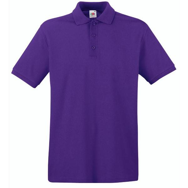 Fruit of the Loom Premium Polo - Lilac - Medium
