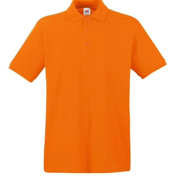 Fruit of the Loom Premium Polo - Orange - 3XL