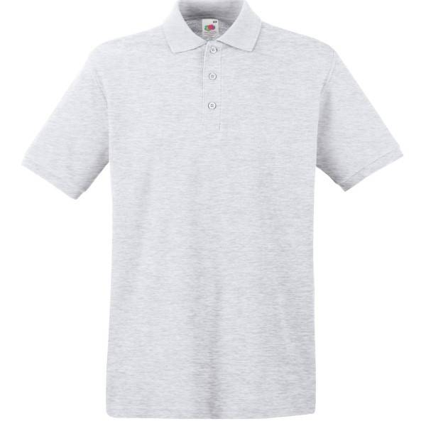 Fruit of the Loom Premium Polo - Grey - X-Large