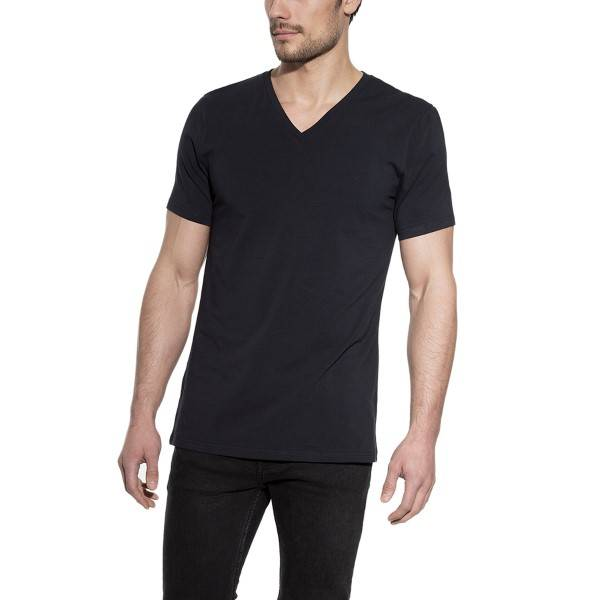 Bread & Boxers Bread and Boxers V-Neck - Darkblue - X-Large