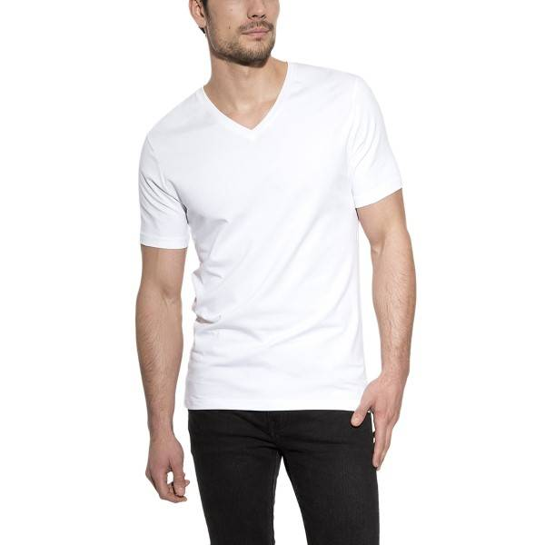 Bread & Boxers Bread and Boxers V-Neck - White - Large