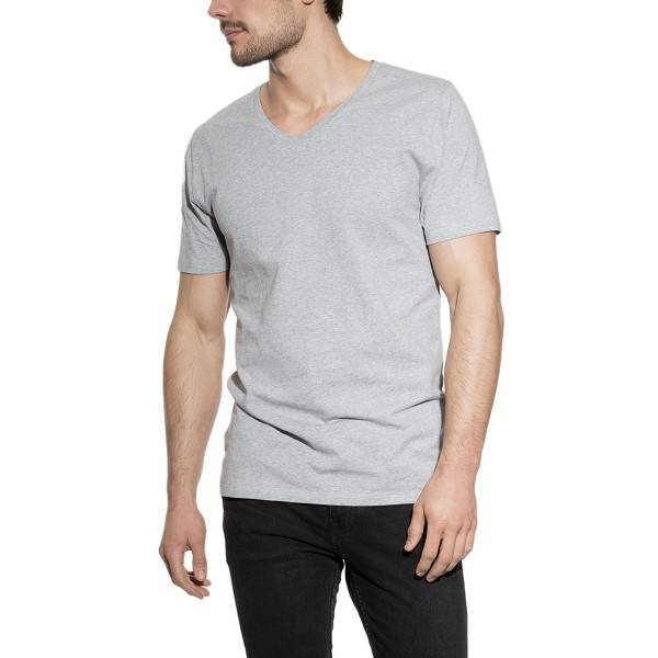 Bread & Boxers Bread and Boxers V-Neck - Grey - Large