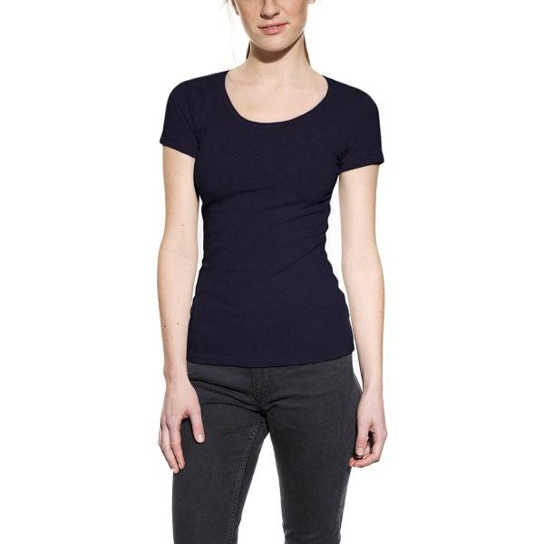 Bread & Boxers Bread and Boxers Crew Neck Woman - Darkblue