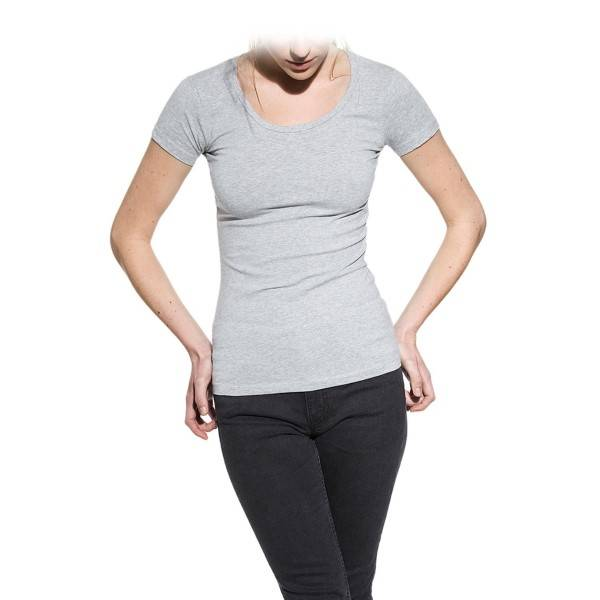 Bread & Boxers Bread and Boxers Crew Neck Woman - Grey - X-Large