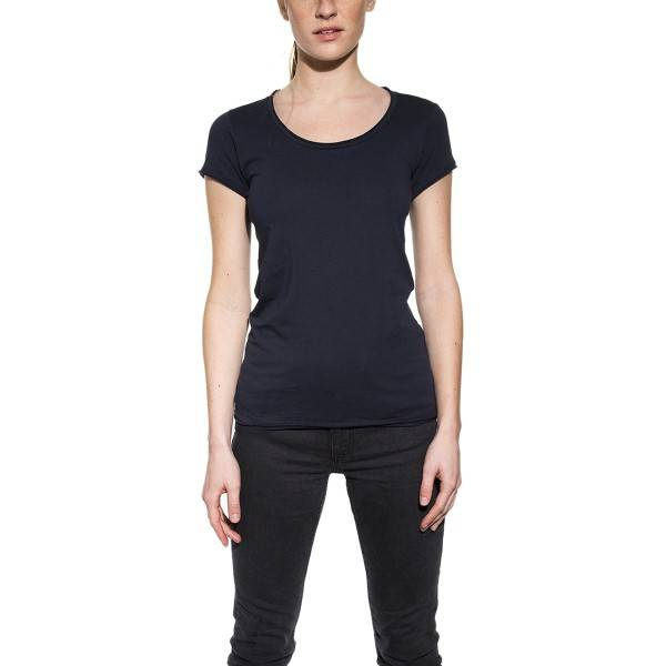 Bread & Boxers Bread and Boxers Crew Neck Relaxed Woman - Darkblue - X-Large