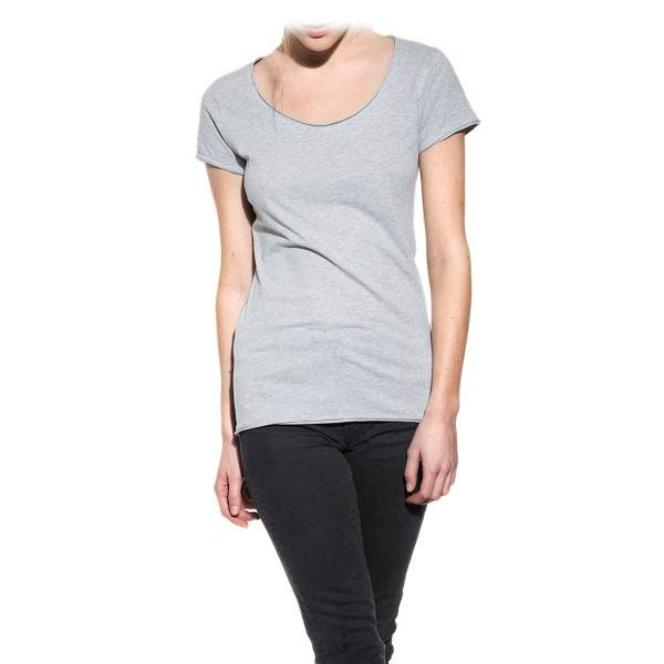 Bread & Boxers Bread and Boxers Crew Neck Relaxed Woman - Grey