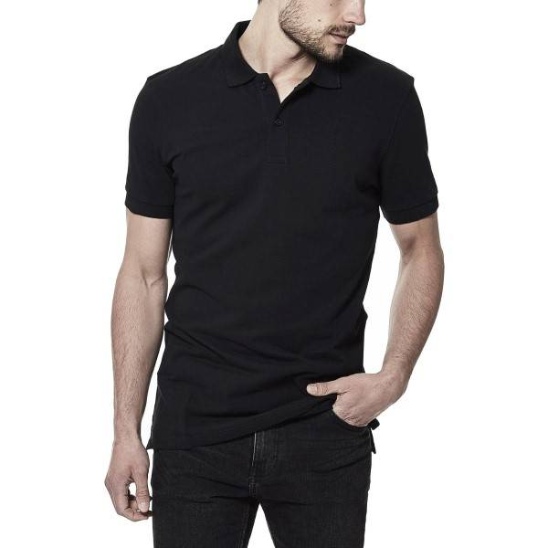 Bread & Boxers Bread and Boxers Pique Polo - Black - Large