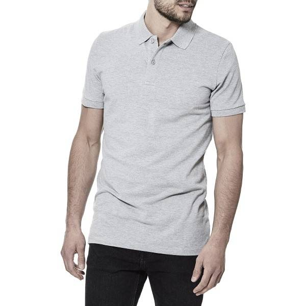 Bread & Boxers Bread and Boxers Pique Polo - Grey - Large