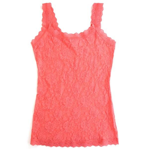 Hanky Panky Unlined Cami - Coral - X-Small