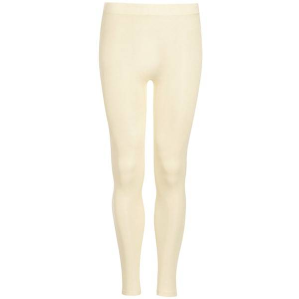 Hanro Pure Silk Leggings - Champagne - Small