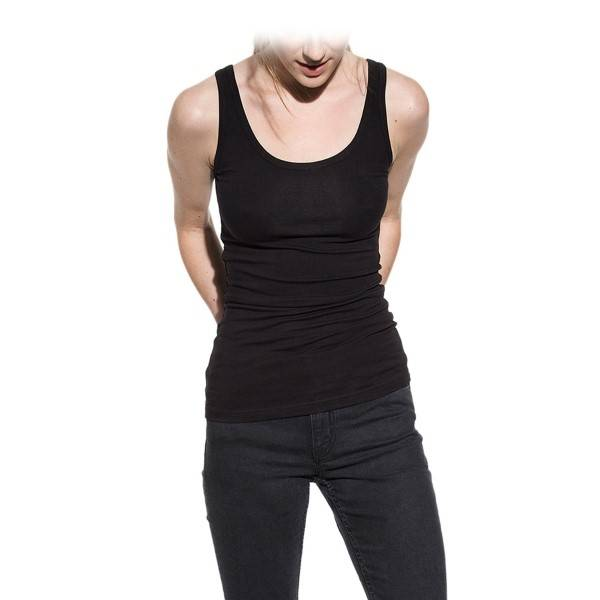 Bread & Boxers Bread and Boxers Tank Woman - Black - Large