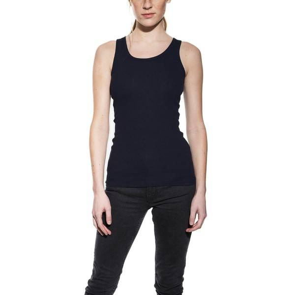 Bread & Boxers Bread and Boxers Tank Ribbed Woman - Darkblue