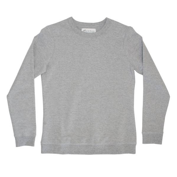 Bread & Boxers Bread and Boxers Women Sweatshirt - Grey - Small