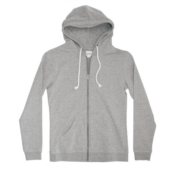 Bread & Boxers Bread and Boxers Women Hoodie - Grey - X-Small