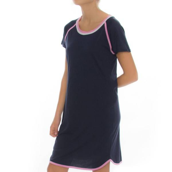 Rayville Womens Nightie Annie - Navy-2 - Medium