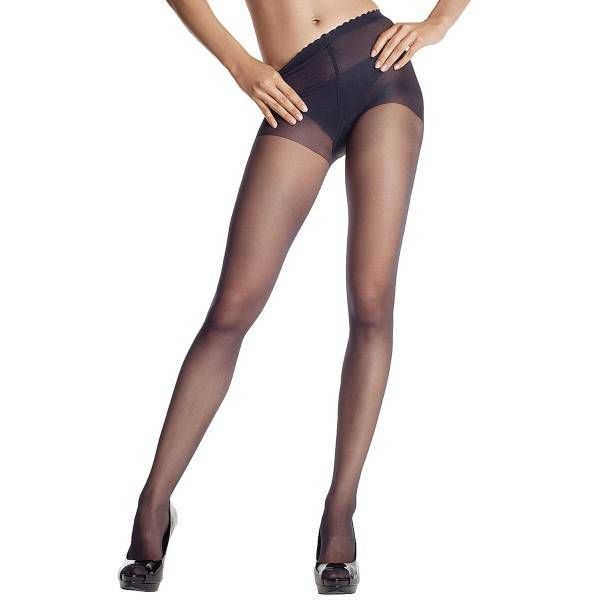 DIM. Body Touch Voile Pantyhose - Black