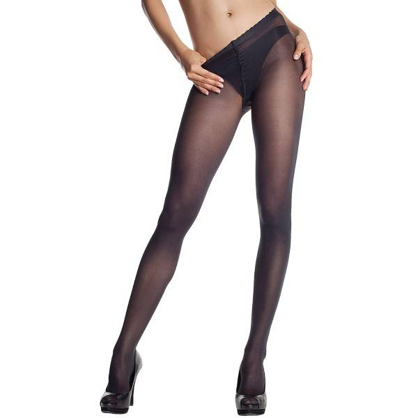 DIM. Body Touch Opaque Pantyhose - Black - Large