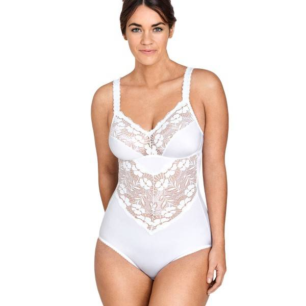 Miss Mary of Sweden Miss Mary Soft Cup Body Shaper - White - B 100