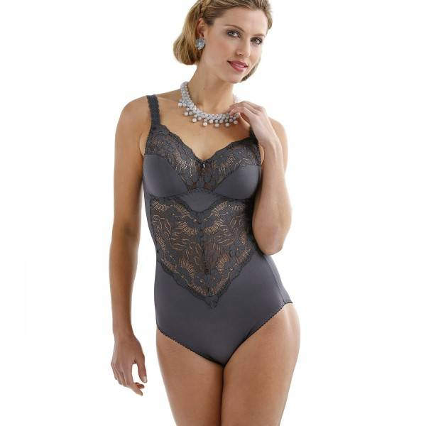 Miss Mary of Sweden Miss Mary Soft Cup Body Shaper - Grey - B 95