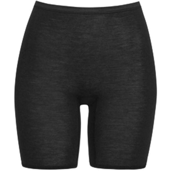 Hanro Woolen Silk Boxer Black - Black - Medium