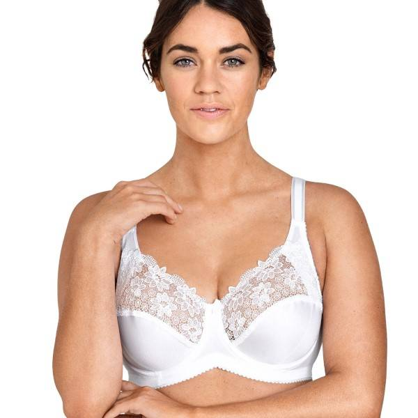 Miss Mary of Sweden Miss Mary Underwired bra 2870 B-D - White - B 95