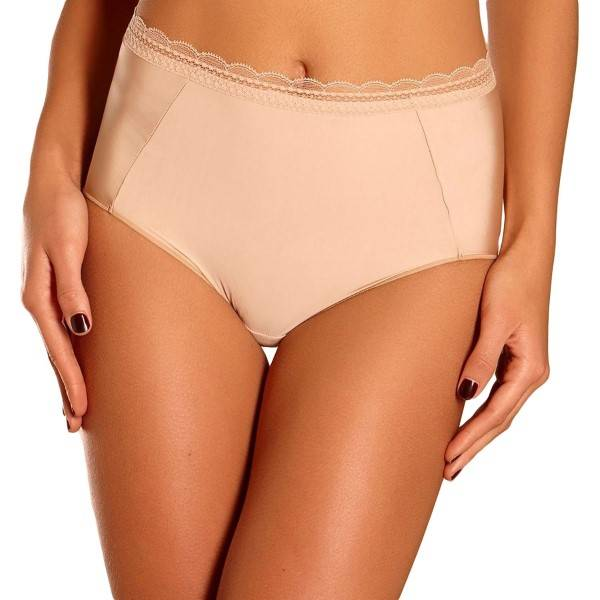 Chantelle Soft Package High-Waisted Brief - Skin
