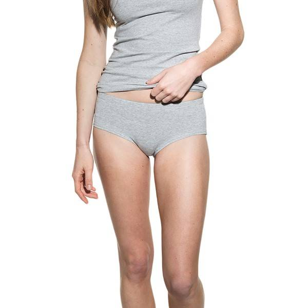 Bread & Boxers Bread and Boxers Hipster - Grey - X-Small