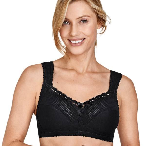 Miss Mary of Sweden Miss Mary Functional Soft Bra - Black - F 105
