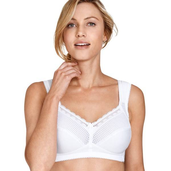 Miss Mary of Sweden Miss Mary Functional Soft Bra - White