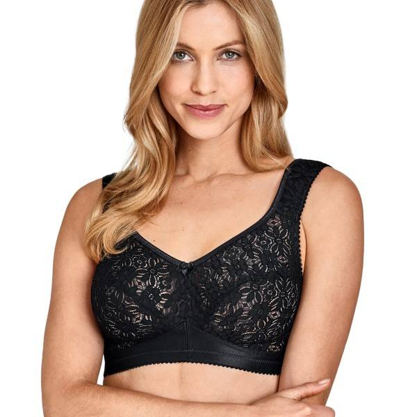 Miss Mary of Sweden Miss Mary Allround Soft Bra - Black - D 100