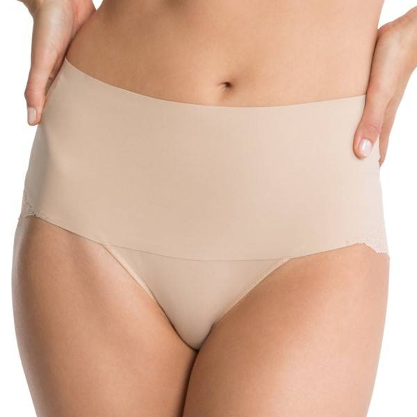 Spanx Undie-Tectable Lace Cheeky Panty - Skin - X-Large