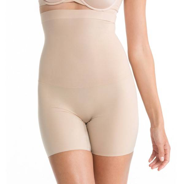 Spanx Shape My Day High-Waisted Mid-Thigh Short - Skin - Small