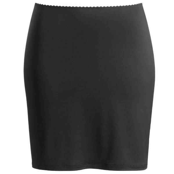 Hanro Satin Deluxe Underskirt - Black - Medium