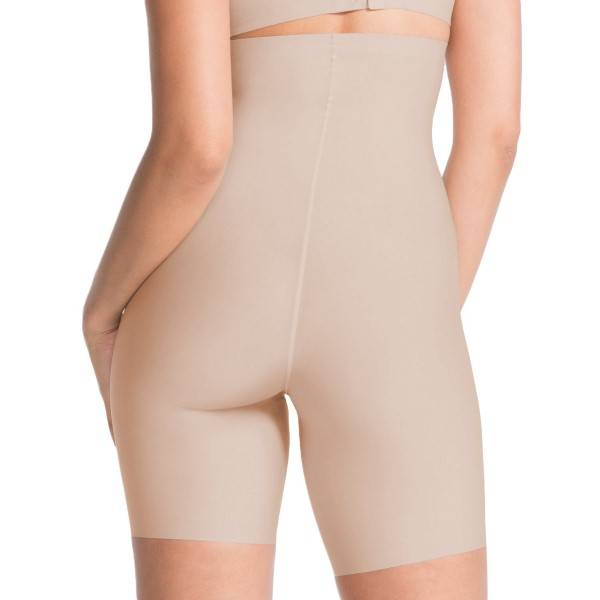 Spanx Thinstincts High-Waisted Mid-Thigh Short - Beige