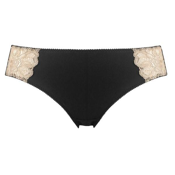 Abecita Glitter Brief - Black