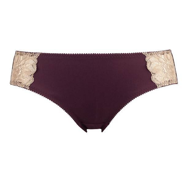 Abecita Glitter Brief - Wine red