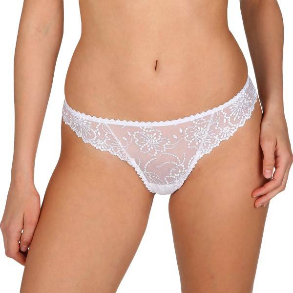 Marie Jo Jane Thong - White