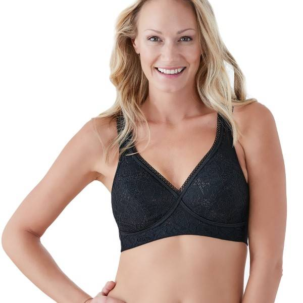 Swegmark Blossom Beautiful Soft Bra - Black