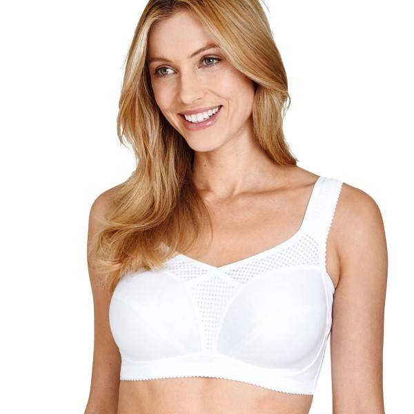 Miss Mary of Sweden Miss Mary Soft Cup Bra 2121 - White