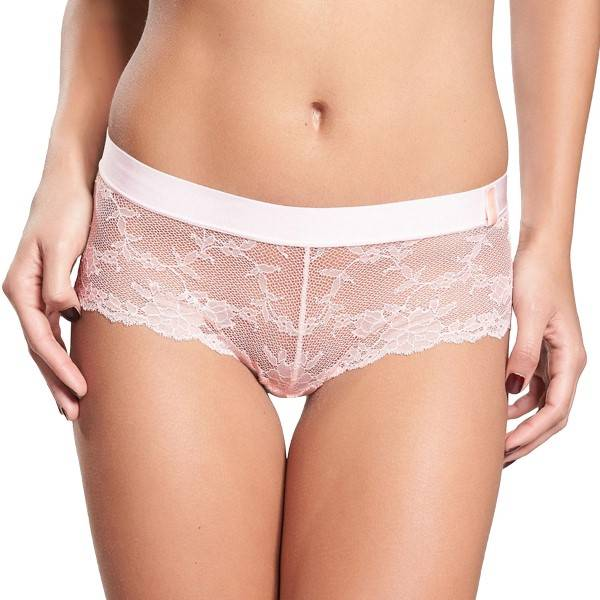 Chantelle Everyday Lace Low-Cut Shorty - Lightpink