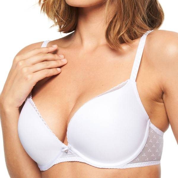 Chantelle Courcelles Push-up Bra - White